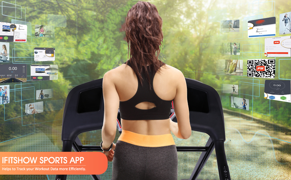 Advanced workout experience by connecting to iFitShow sports app