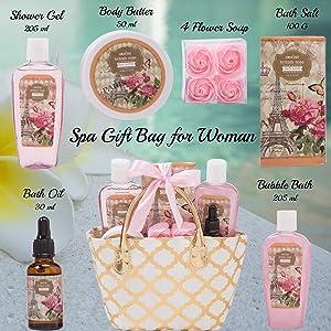 6 Piece Spa Gift Bag DZ14499
