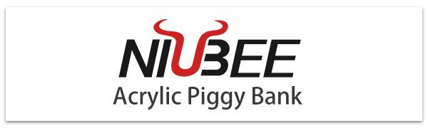 Clear Acrylic Piggy Bank