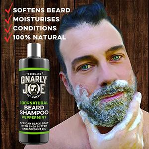 Gnarly Joe Natural and No Nonsense Skin, Hair and Beard Care for Men, with natural ingredients