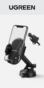 UGREEN Car Phone Mount Gravity Car Air Vent Phone Holder