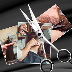 Candure Hairdressing scissor Hair Scissor for Professional Hairdressers 6 Inch Top Quality Scissors