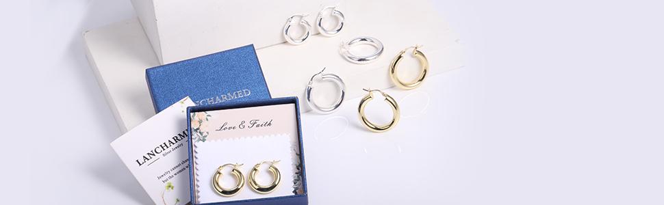 hoop earrings series