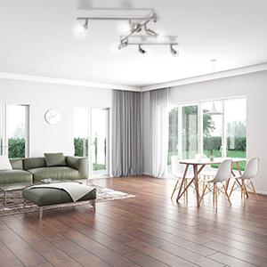 PLAFONNIER LED 6 SPOTS luminaire led de plafond spot de plafond luminaire plafonnier led orientable