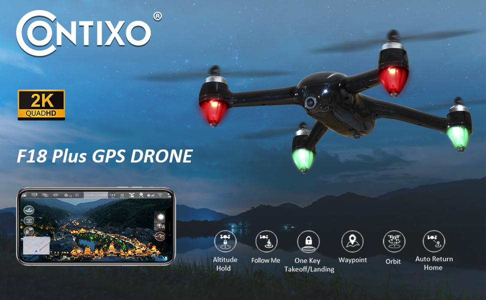 GPS RC Drone