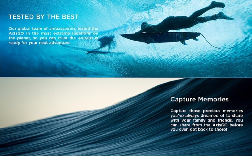 surfing waves underwater photos
