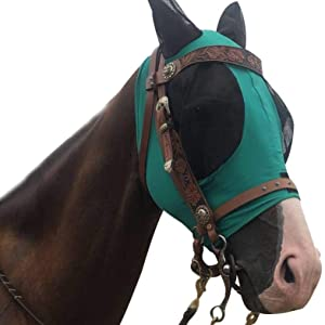 TGW RIDING Lycra Fly Mask with Ears