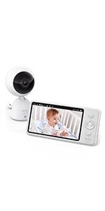 720P Video Baby Monitor