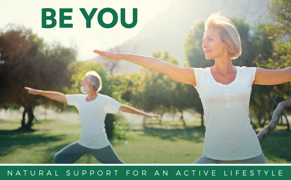 Natural support for an active lifestyle