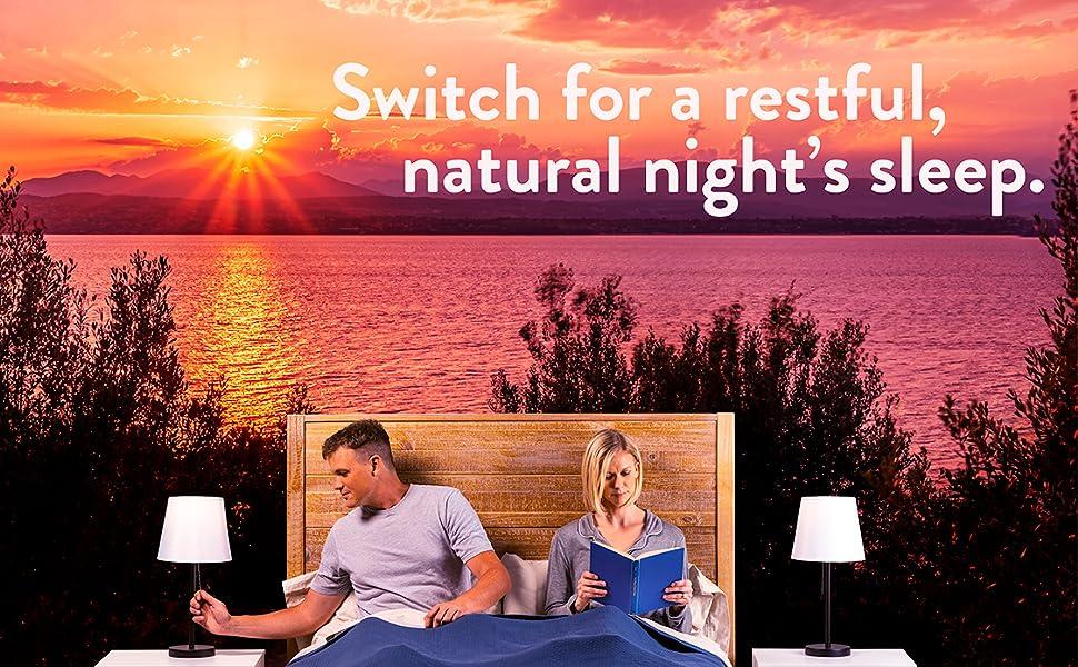 switch, norb, evening bulb, bedtime bulb, sleep bulb, nighttime light