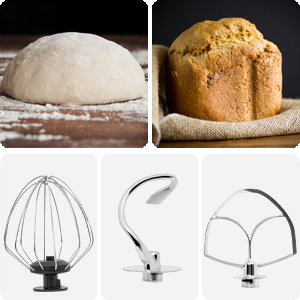 deco chef standing mixer for baking home cooking