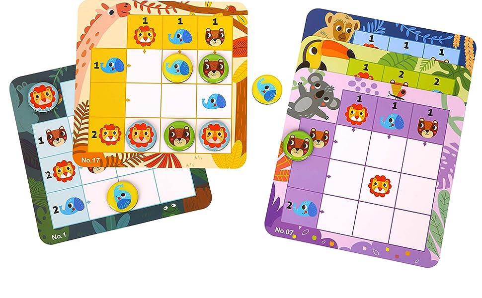 Sudoku juego de lógica niños juguetes para niños