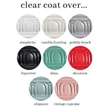 eco conscious clear coat poly top coat furniture sealant country chic paint
