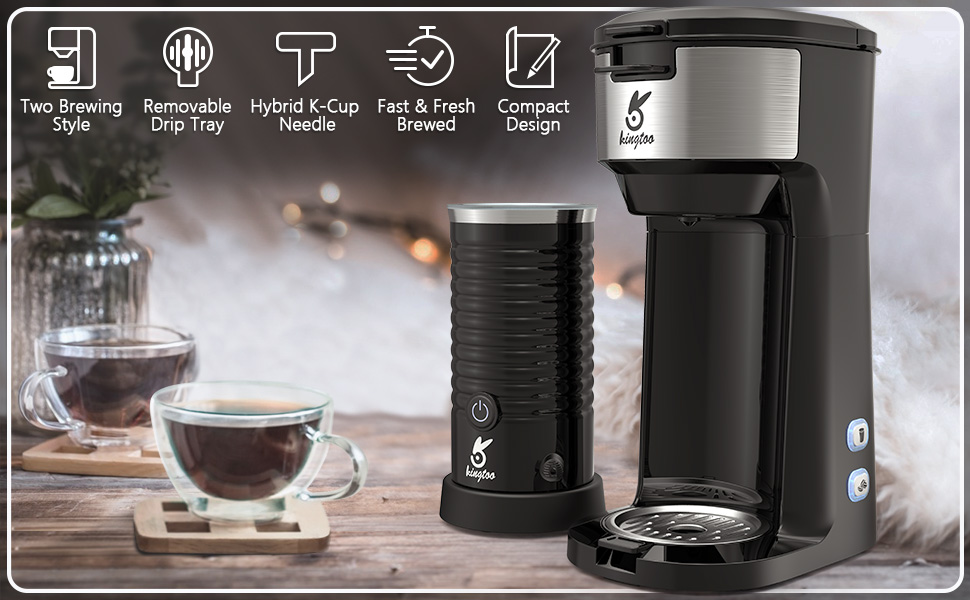 Coffee maker & Milk frother