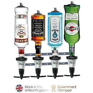 4 bottle bar butler