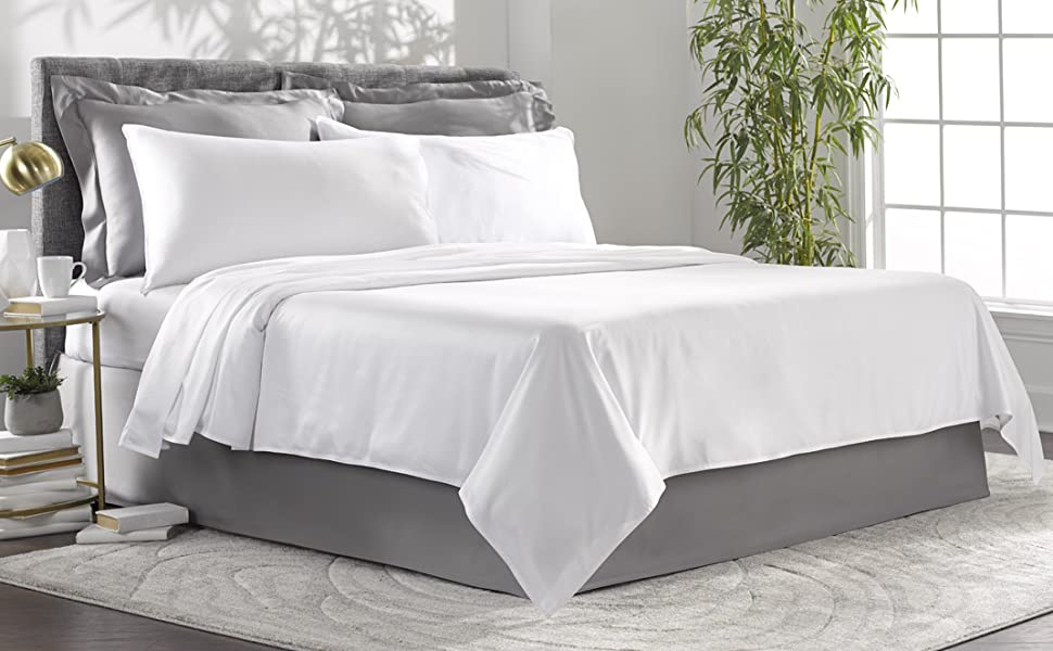 Pure Bamboo 100% organic bed sheets king queen twin full california cooling soft pillowcases