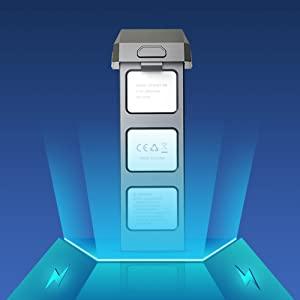 2500mAh Powerful Li-Battery
