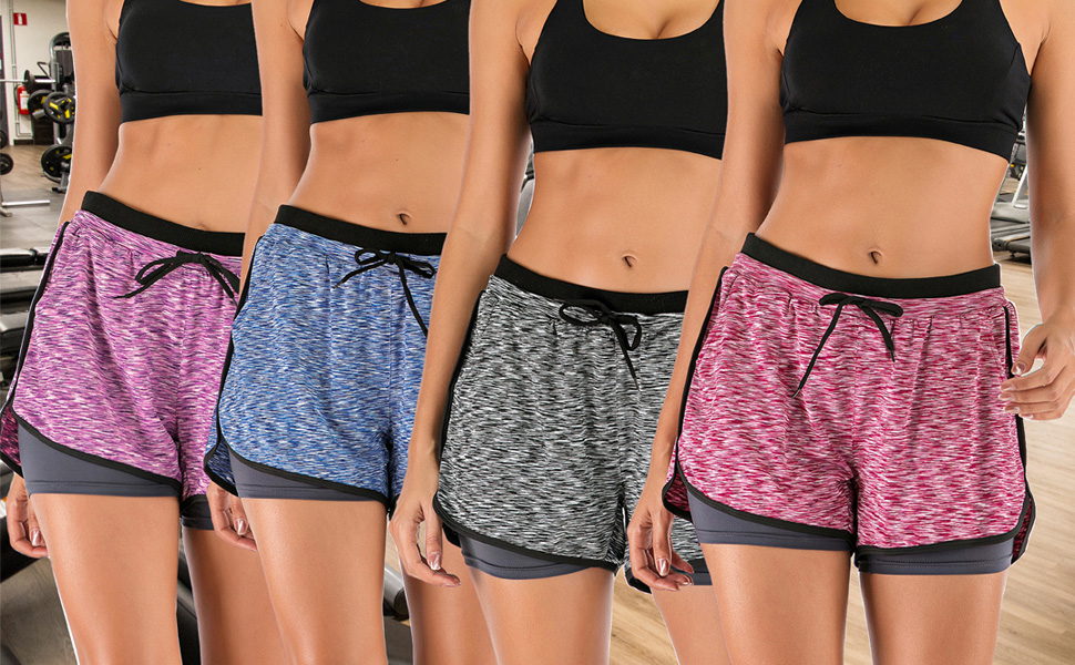 REDUCED.O/'NEILL WOMENS SHORTS.ACTIVE DOUBLE SURF FITNESS GYM RUNNING SPORTS S20F