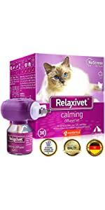 pheromone calming diffuser refill for cats and dogs anxiety relief treatment stress prevention