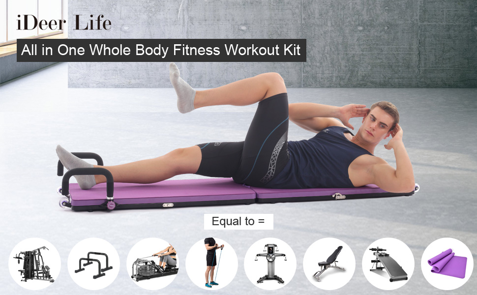 home gym workout package