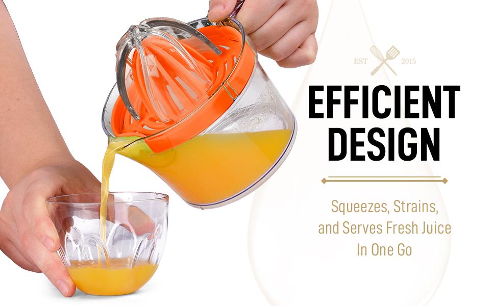 reamer cup handle juice citrus press manual filter egg cup orange lemon lime squeezer kitchen home