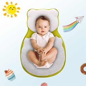 baby pillow newborn nest infant lounger pillow baby bed mattress snuggle pillow flat head pillow