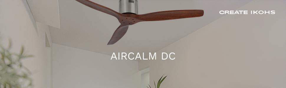 IKOHS AIRCALM DC - Ventilador de Techo con Mando, Bajo Consumo ...