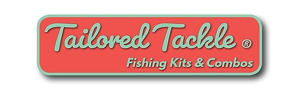 tailored tackle fishing kit fishing combo rod reel set gift