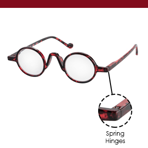 Get crystal clear vision with these reading glasses.