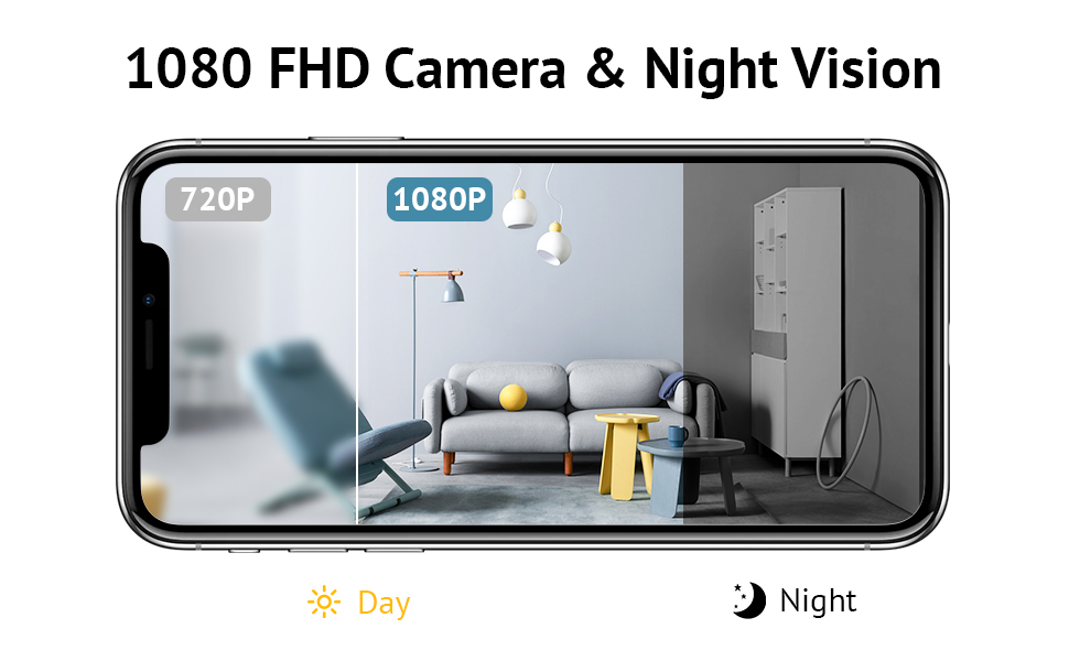 Clear 1080P Night Vision