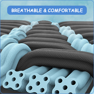 breathable sleeves