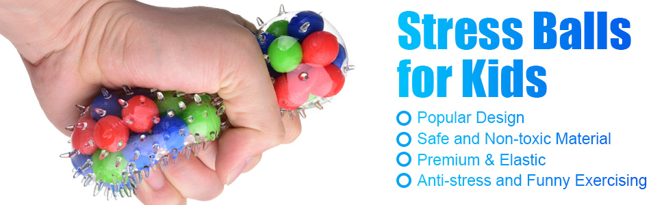 stress balls for kids and adults