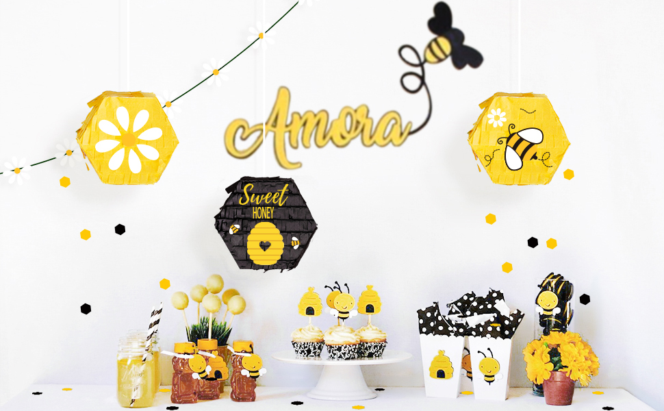 Read more about the article NICROLANDEE Bee Party Decorations – What Will It Bee Gender Reveal Sweet Mini Pinatas Confetti for Baby Shower Bee Day Bee Themed Baby Birthday Party Kids Themed Parties (3PCS) (Toy)