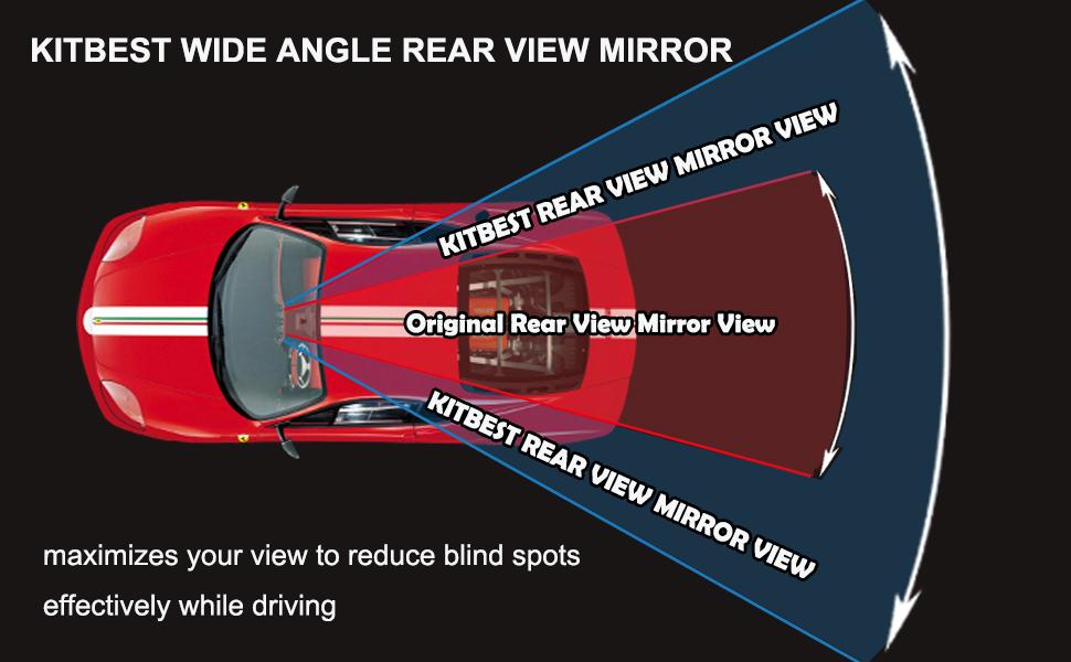 car inside mirror