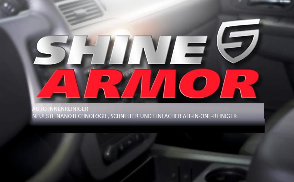 Shine Armor Allzweck Auto Innenraum Reiniger Kunststoffpflege Auto Autositz Reiniger Polsterreiniger Auto Auto Lederpflege Cockpitpflege Auto Alles In 1 Innenraumreiniger Auto Matt Auto