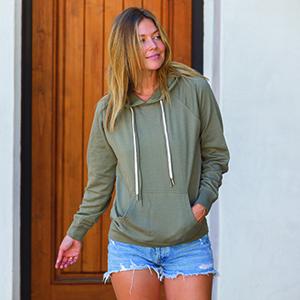 Lightweight Pullover Hoodie Sweatshirt