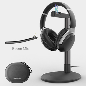 bluetooth headphones with charging stand