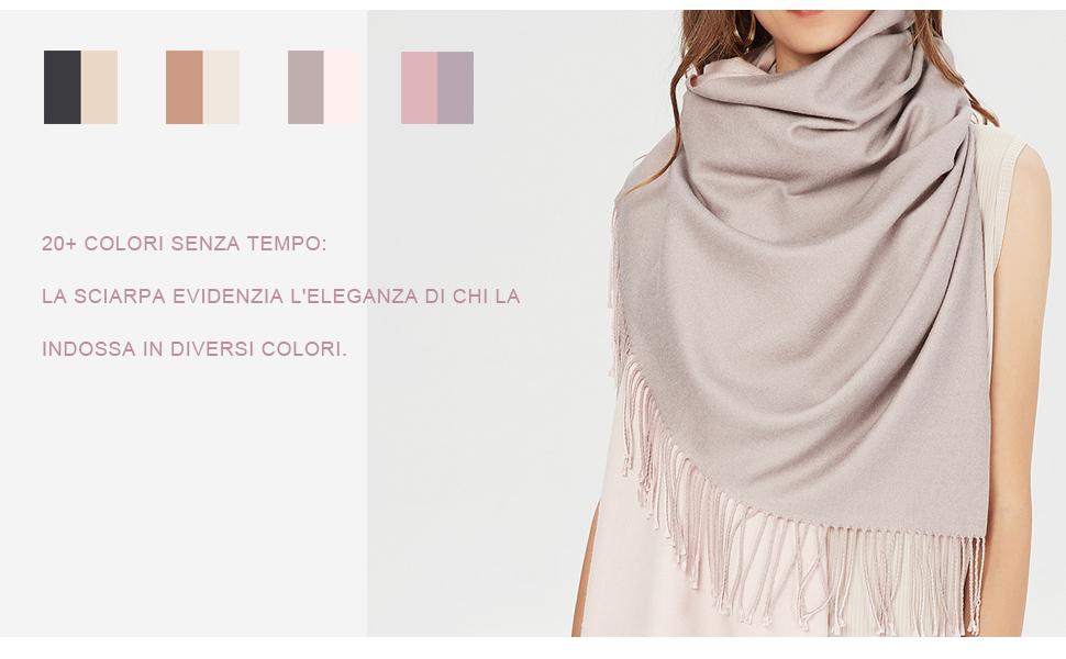 Unisex Check Bianco /& Grigio Sciarpa Inverno Caldo Più Colori Disponibili Regalo Ideale