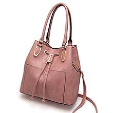 LJOSEIND designer hobo bucket handbag satchel