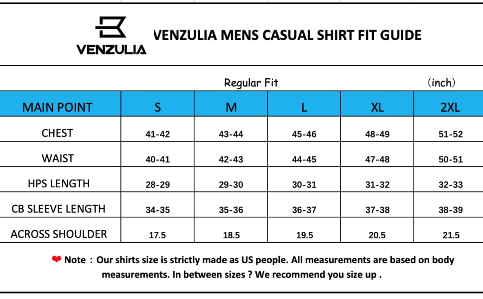 mens casual shirt fit guide