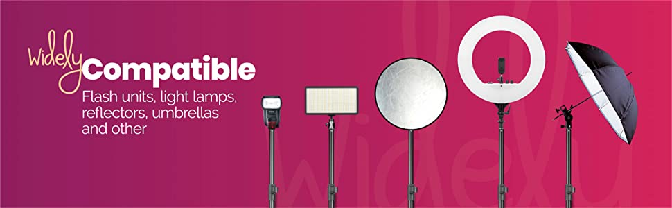 led ring light stand, video shoot stand, video camera led light stand, make up light stand, digitek