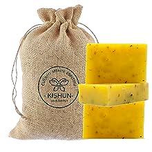 Jabón orgánico Vegano natural Neem y Caléndula