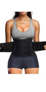 Figurformend Bauchweggürtel Neopren Fitness Body Shaper