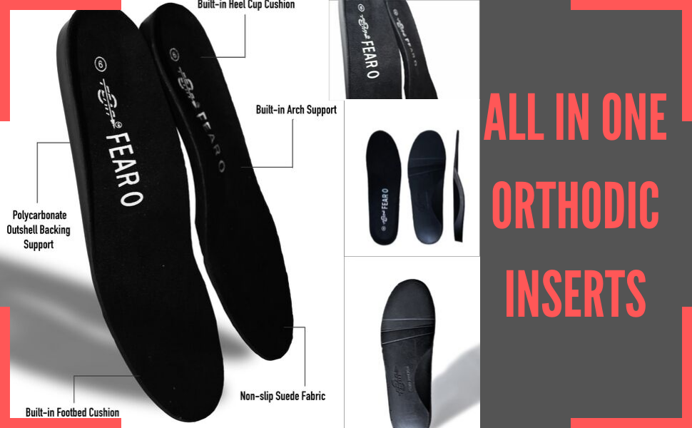 2 PAIRS OF INSOLES