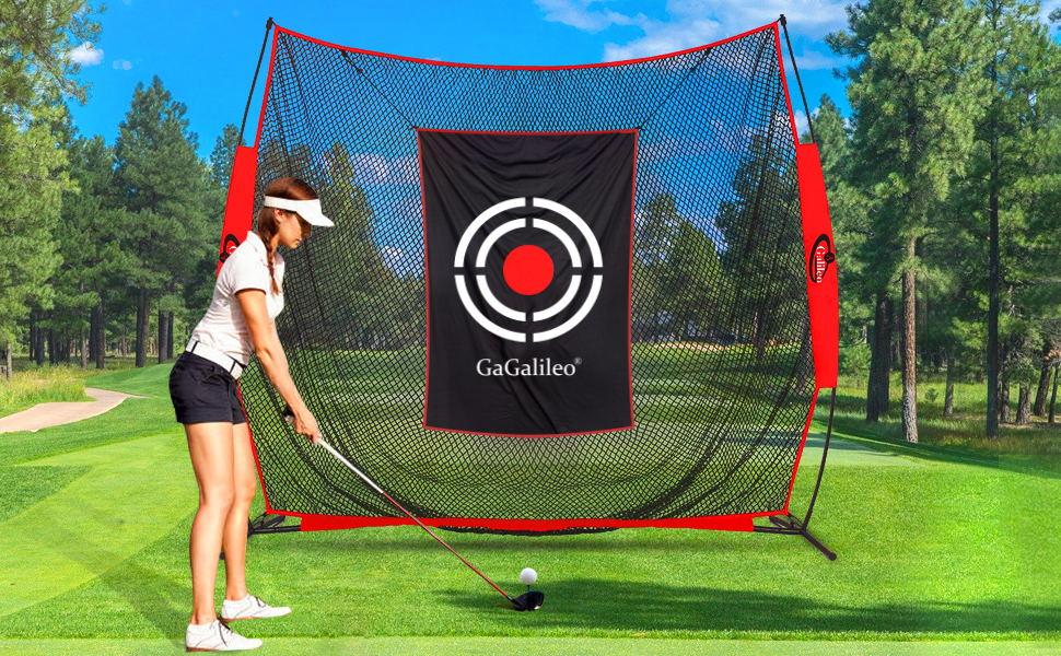 Golf net golf hitting nets for backyard driving range 7x8FT