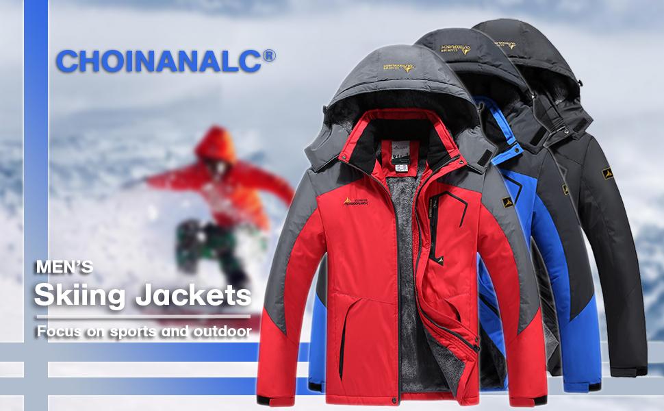 Men's Skiing Jackets