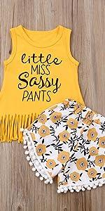 Little Miss Sassy Pants Set