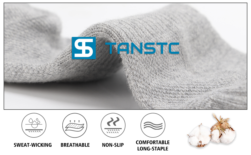 TANSTC Long-staple Cotton Socks, High-quality Materials Give You the Best Comfort