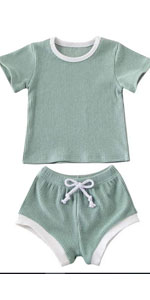 2PCS Babys Summer Outfits