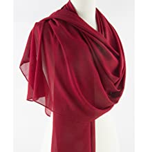 scarf cape shawl formal event dress sheer lightweight simple solid gift everyday wedding bride soft